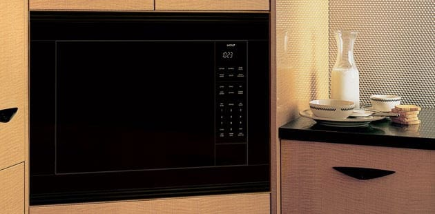 Microwave Oven Wolf Ms24 Kitchen View
