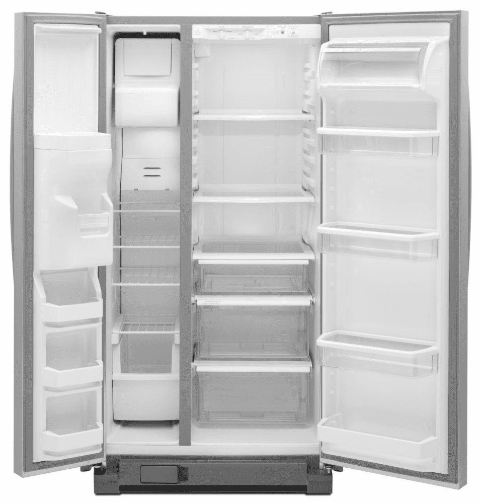 Maytag MSF22D4XAM 22 cu. ft. Side by Side Refrigerator with Spill ...