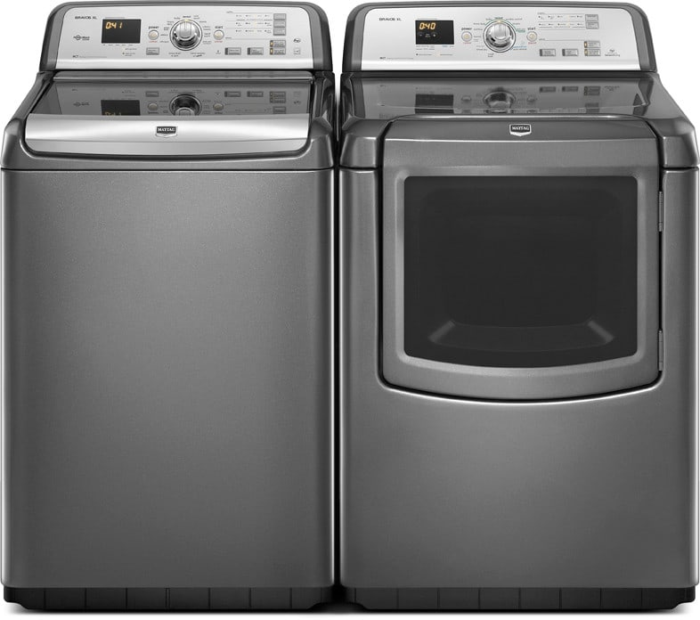Maytag Bravos Series Mvwb850yg Granite Laundry Pair