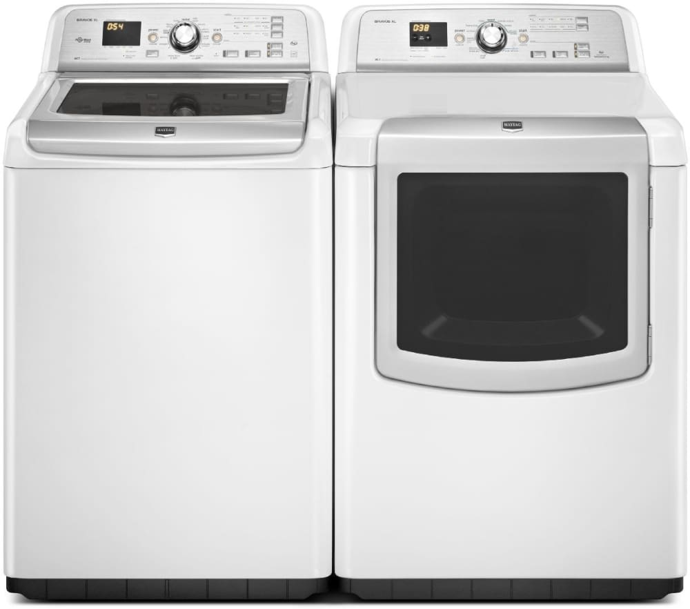 Maytag Bravos Xl Series Mvwb880bw View With Matching Dryer