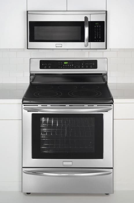 Frigidaire Gallery Series Fgmv154clf Stainless Steel In Home View Range Sold Separately
