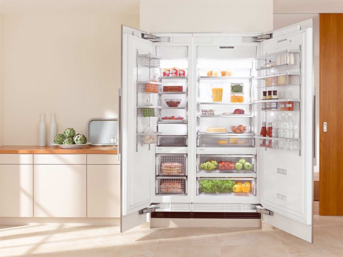Miele F1411VIL 18 Inch Built-in Fully Integrated All-Freezer with ...