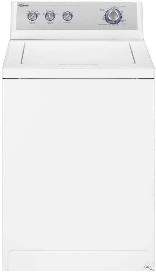 Amana Nav5805aww 27 Inch Top Loader Washer With 3 3 Cu Ft
