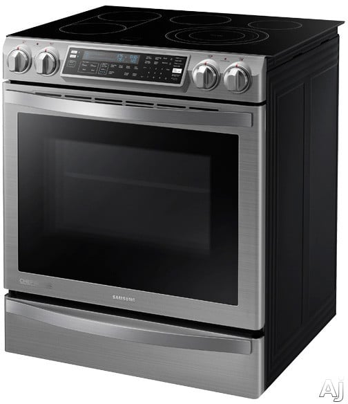 Samsung Ne58h9950ws 30 Inch Slide In Electric Range With 5
