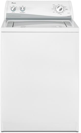 Amana NTW5400TQ 27 Inch Top Load Washer with 3 2 cu  ft  Capacity, 8