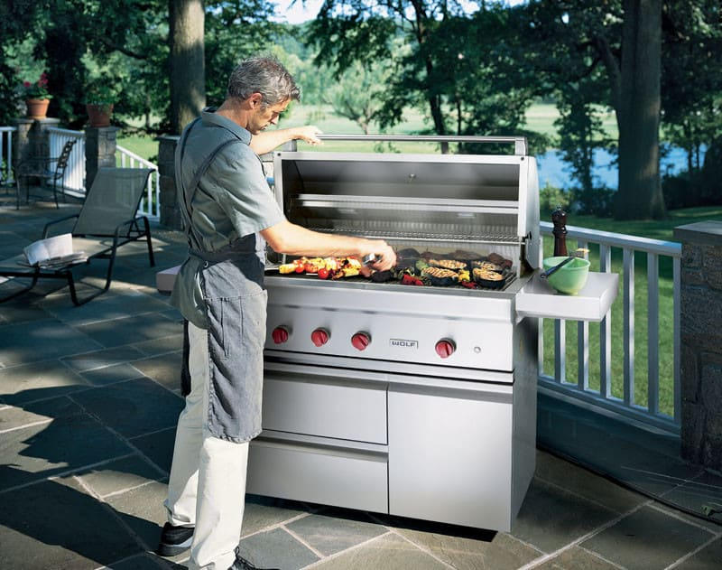 Wolf Og42 42 Inch Built In Gas Grill With Infrared