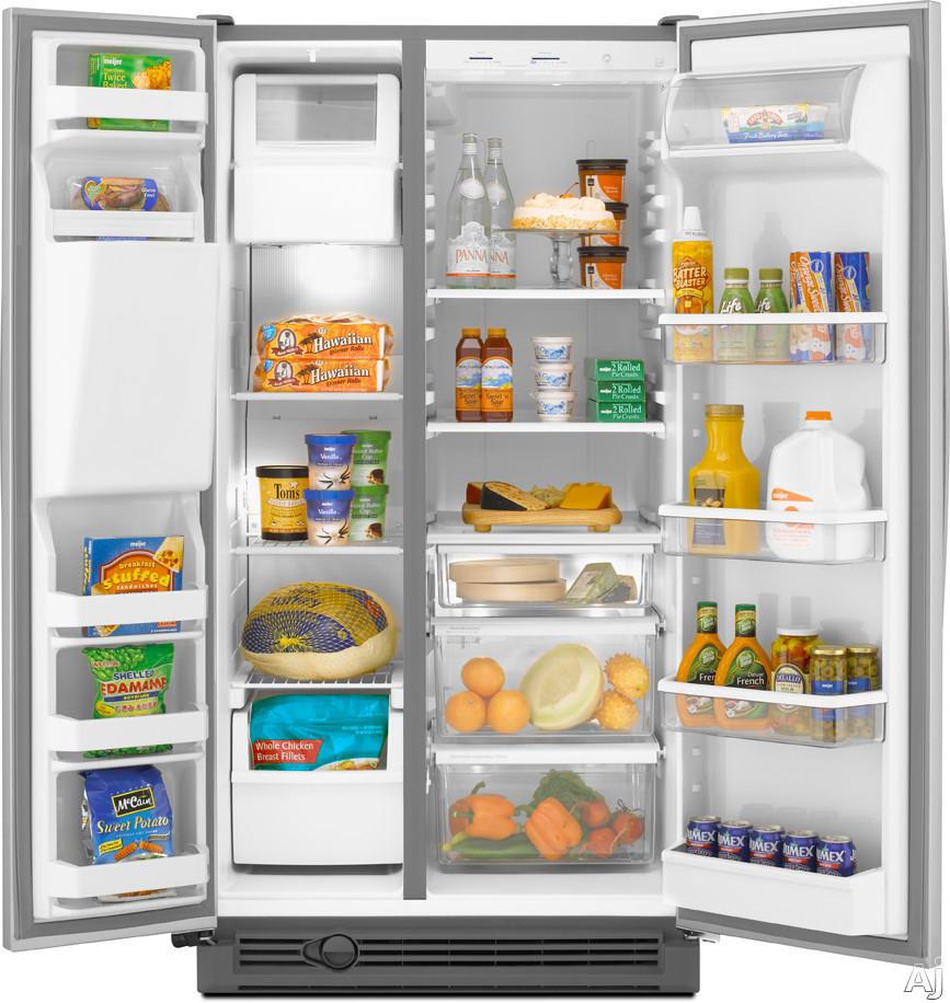 Maytag MSD2574VEM 25.2 cu. ft. Side by Side Refrigerator with ...