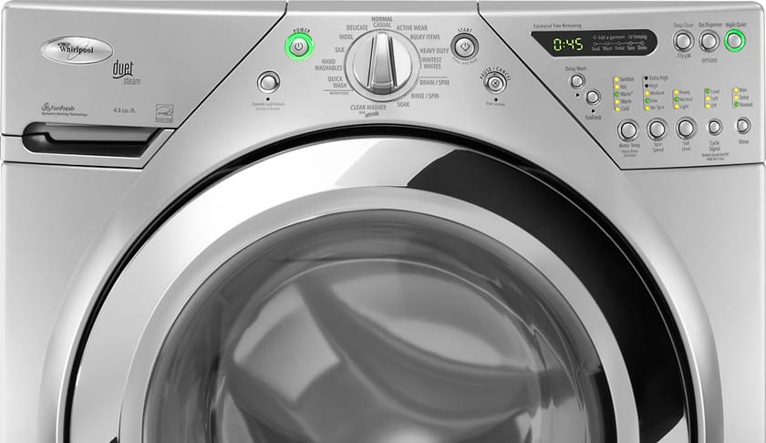 Whirlpool Wfw9470wl 27 Inch Front Load Washer With 3 9 Cu Ft Capacity 12 Wash Cycles 4