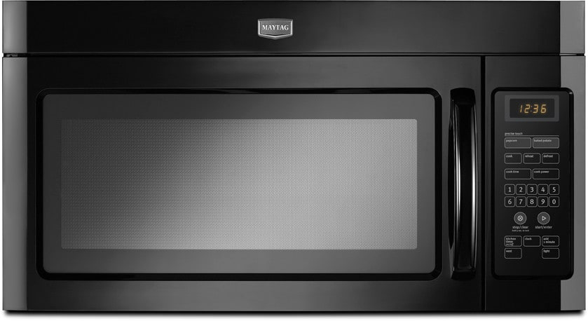 Maytag Mmv1164wb 1 6 Cu Ft Over The Range Microwave Oven