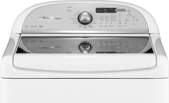 Whirlpool Wtw7800xw 27 Inch Top Load Washer With 4 0 Cu Ft Capacity 16 Wash Cycles Automatic Temperatue Soak Setting Delay Start And Led Display White