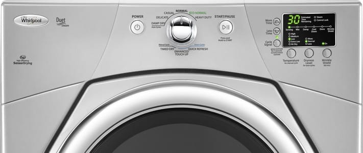Whirlpool Wgd9371yl 27 Inch Gas Dryer With 6 7 Cu Ft