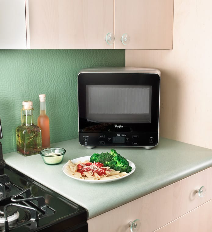Whirlpool Wmc20005yw 0 5 Cu Ft Countertop Microwave Oven With 750 Watts Cooking Power 10