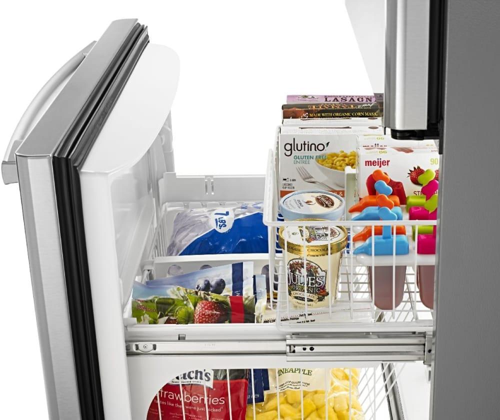 Amana Abb2224brm 21 9 Cu Ft Bottom Freezer Refrigerator