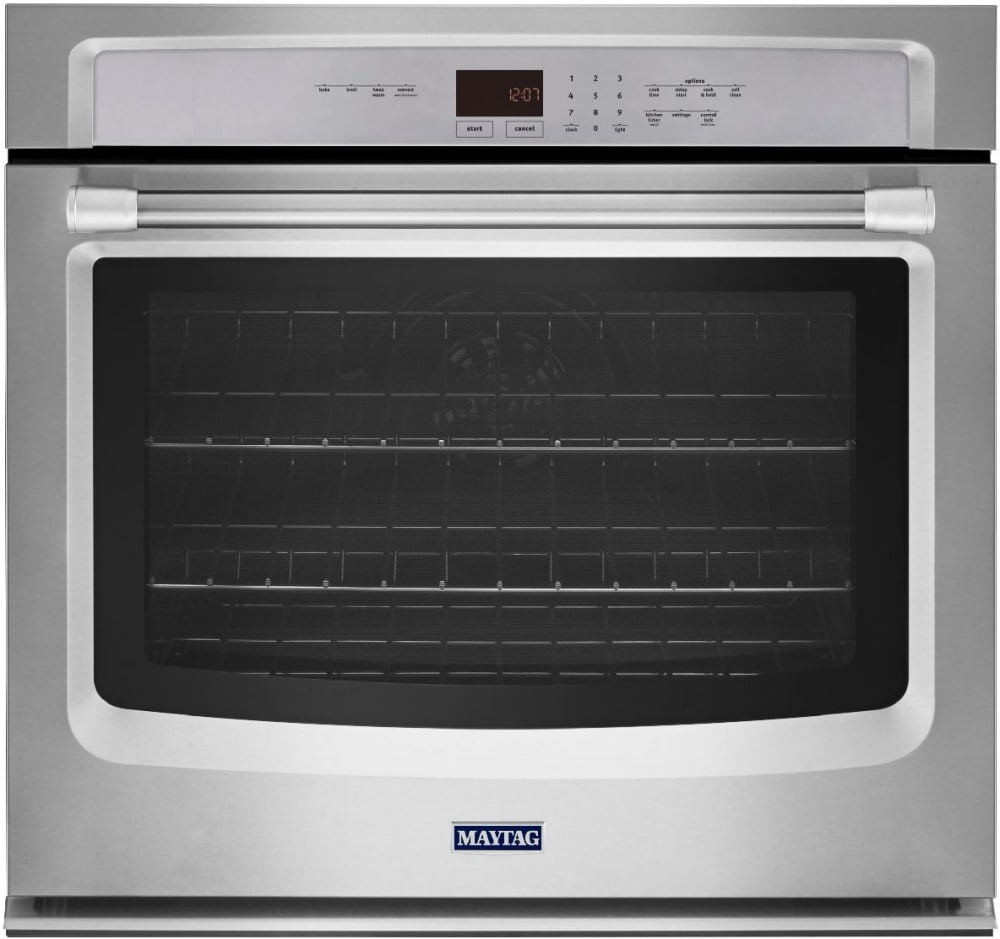 Single Wall Ovens ~ Maytag mew ds inch single electric wall oven with