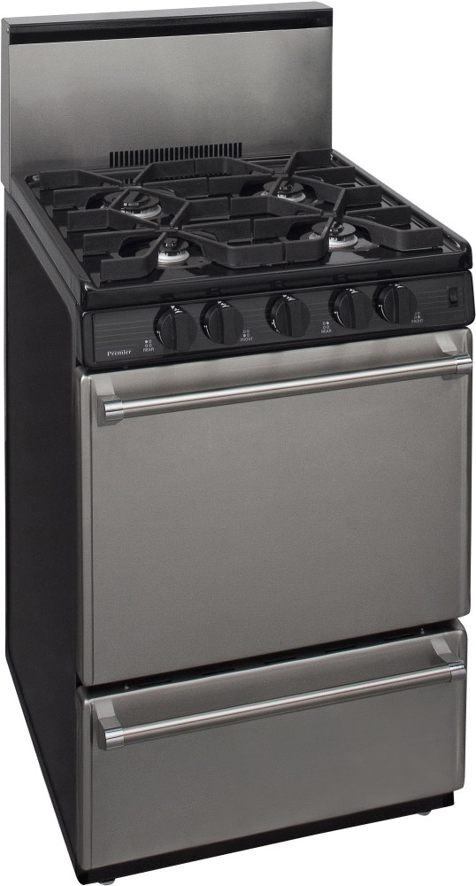 Premier P24s320bp 24 Inch Commercial Style Gas Range With