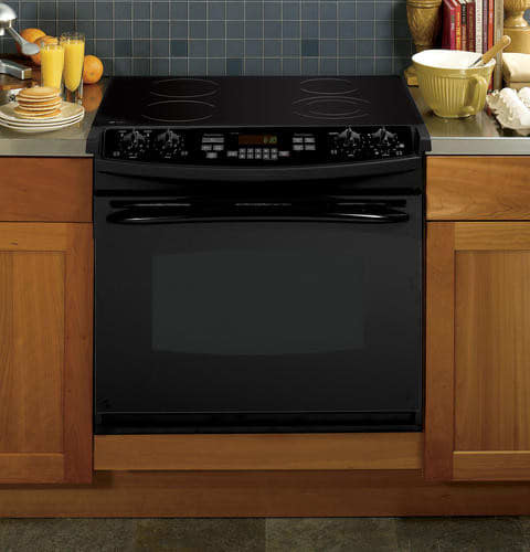Ge Pd900dpbb 30 Inch Drop In Electric Range With 4 4 Cu
