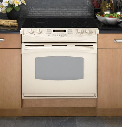 Ge Pd900dpcc 30 Inch Drop In Electric Range With 4 4 Cu