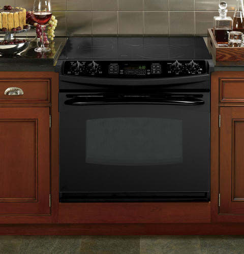 Ge Pd968dpbb 30 Inch Drop In Electric Range With 5 Radiant