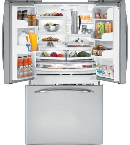 Ge Pfcs1pjzss 20 9 Cu Ft French Door Refrigerator With