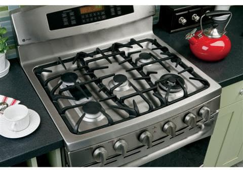 Ge Pgb980setss 30 Inch Freestanding Gas Range With 5