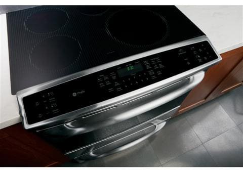 Ge Phs925stss 30 Inch Slide In Induction Range With 5