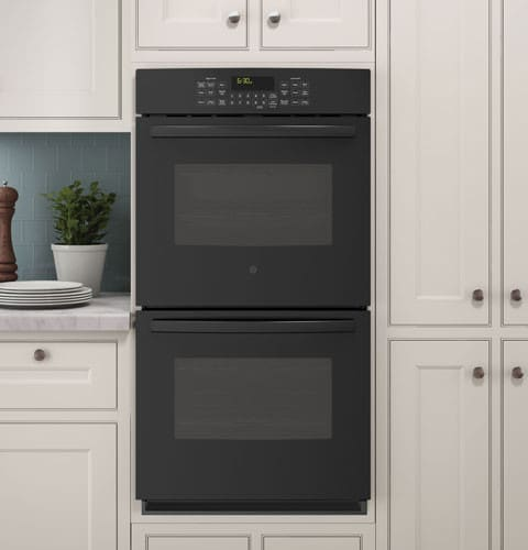 profile lifestyle view black ge double oven specifications two range 30 slide in w convection reviews