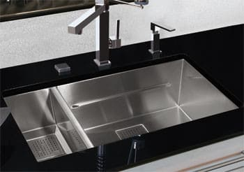 Franke Pkx160 31 Inch Undermount Double Bowl Stainless Steel Sink With 16 Gauge And