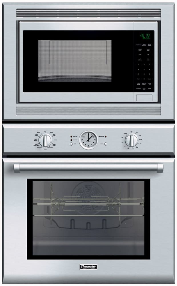 Thermador Pom301 30 Inch Combination Wall Oven With 1 000