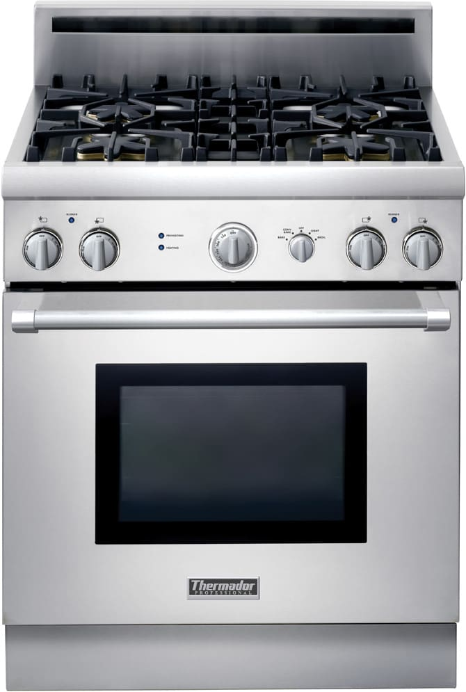 Thermador Prg304eh 30 Inch Pro Style All Gas Range With 4