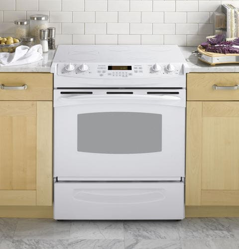 GE PS905TPWW 30 Inch Slide-in Electric Range with 4.4 cu ...