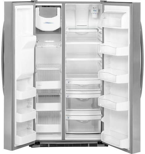 Ge Pshs9pgzss 29 1 Cu Ft Side By Side Refrigerator With