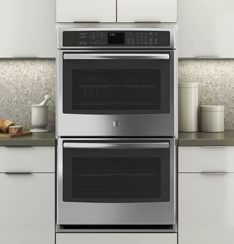 ge profile double oven specifications two range electric wall featured view problems