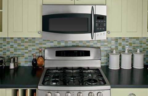 Ge Profile Emaker Series Pvm1970srss Kitchen View