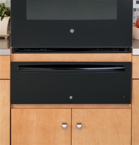 Ge Pw9000dfbb 30 Inch Warming Drawer With 1 9 Cu Ft