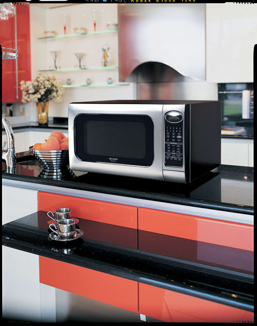 Sharp R520kst 2 0 Cu Ft Countertop Microwave Oven With