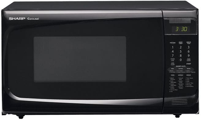 Countertop Microwave 12 Inch Depth : Sharp R402JKT 1.4 cu. ft. Countertop Microwave with 1100 Cooking Watts ...