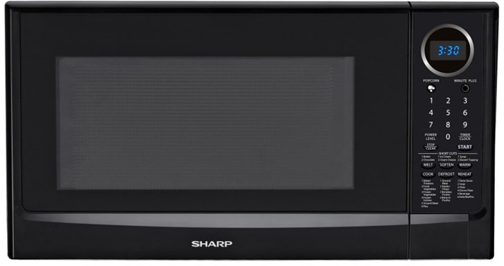 Sharp R403tkc 1 4 Cu Ft Countertop Microwave Oven With