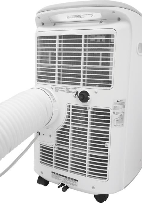 frigidaire fra073pu1 7 000 btu portable air conditioner with 8 4 energy efficiency ratio 3 fan. Black Bedroom Furniture Sets. Home Design Ideas