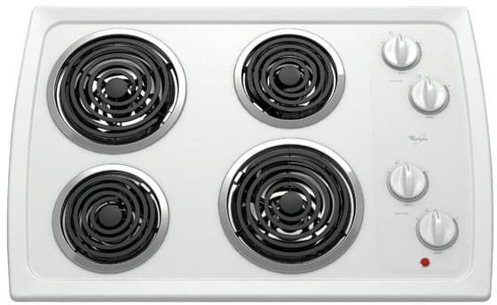 Whirlpool Rcs3014rq 30 Inch Coil Electric Cooktop With 4