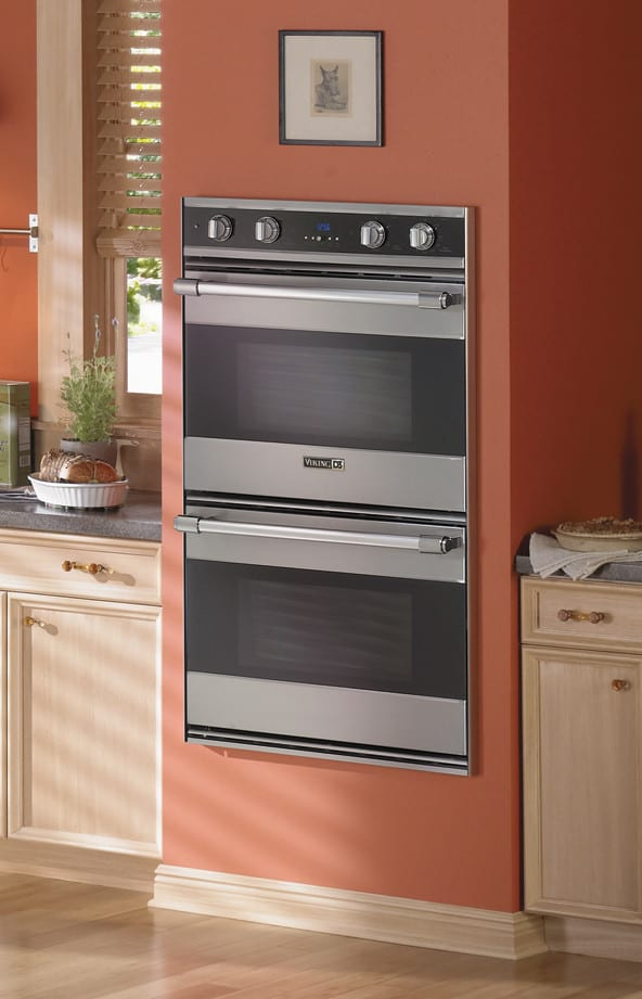 Sub Zero Appliances >> Viking RDDOE306BK 30 Inch Double Electric Wall Oven with 4 ...