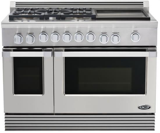 dcs rgugdl   pro style gas range   sealed burners   griddle  cu ft