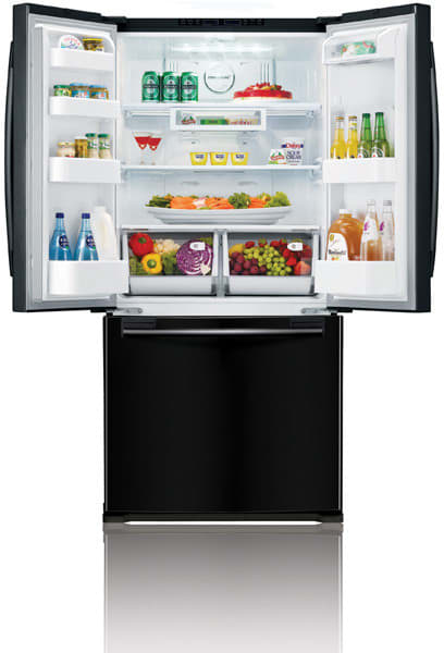 Samsung Rf217acbp 20 Cu Ft French Door Refrigerator With