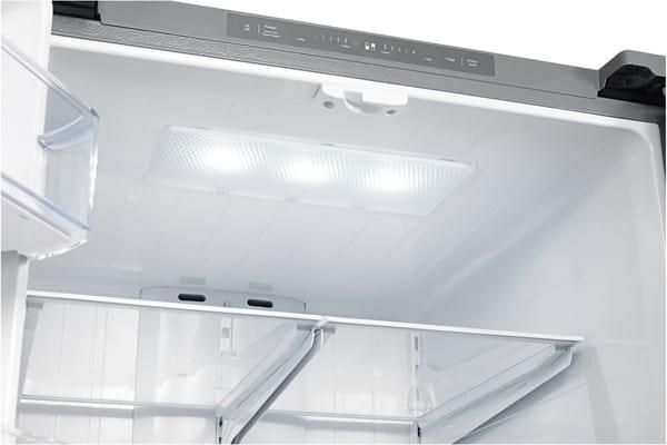 Samsung Rf221nctasp 21 8 Cu Ft French Door Refrigerator