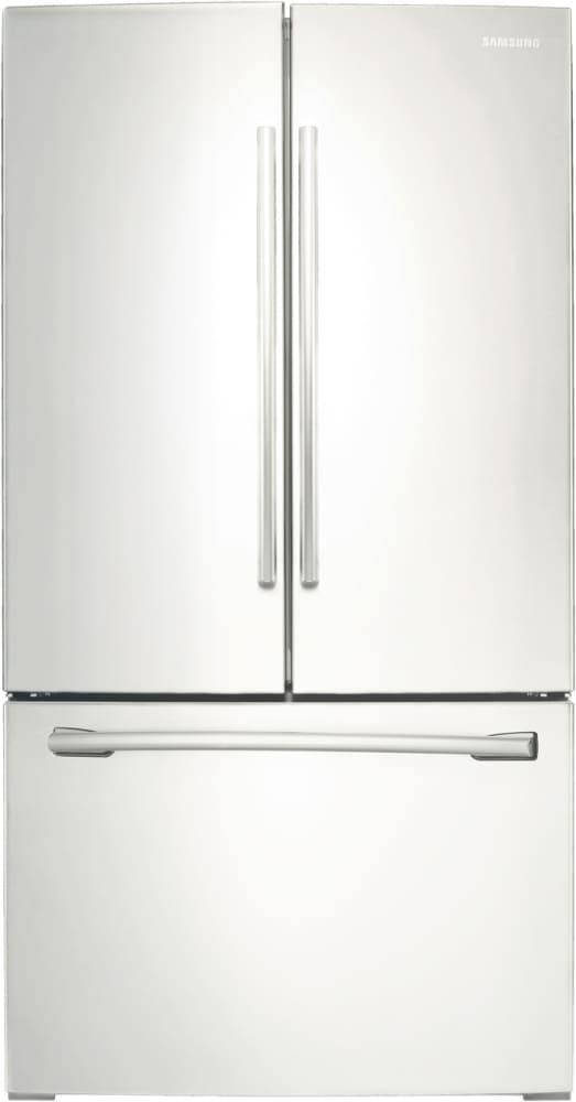 Samsung RF260BEAEWW   French Door Samsung Refrigerator In White ...