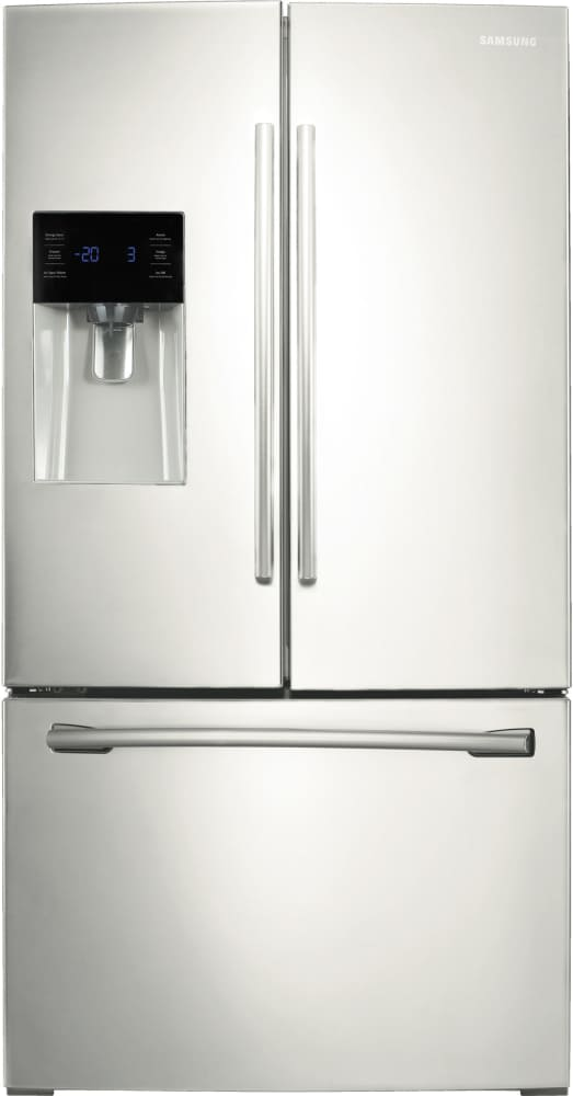 Samsung Rf263beaeww 36 Inch French Door Refrigerator From