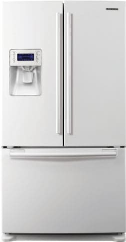Samsung Rf26vabwp 25 5 Cu Ft French Door Refrigerator