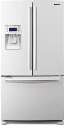 Samsung Rf26vabwp 25 5 Cu Ft French Door Refrigerator