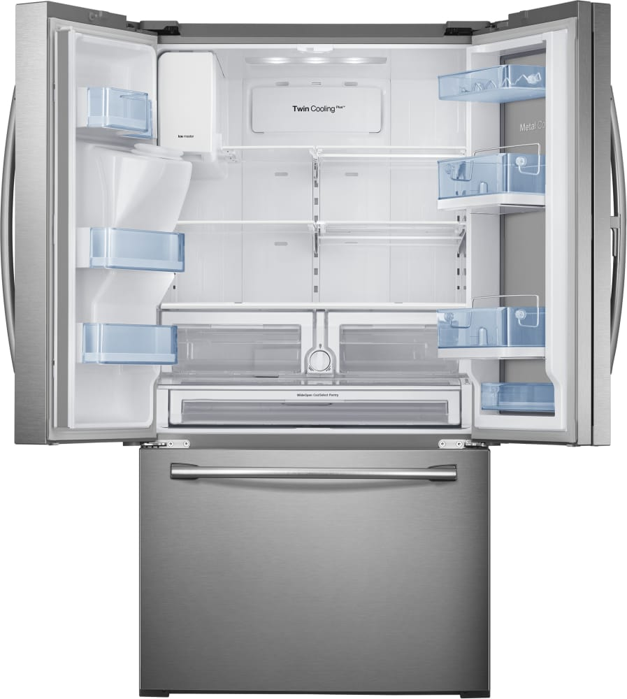 Rf28hdedbsr samsung 36 inch food showcase french door refrigerator interior capacity eventelaan Images