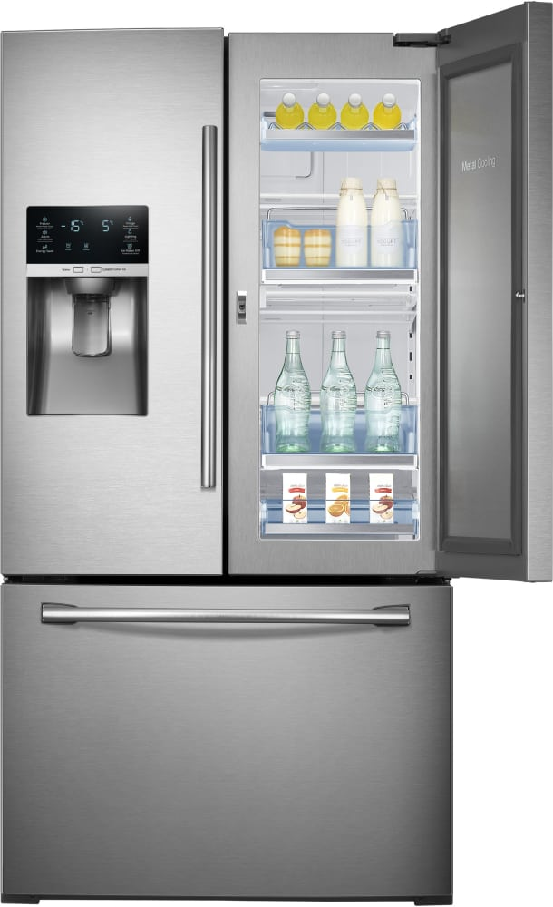 Rf28hdedbsr Samsung 36 Inch Food Showcase French Door