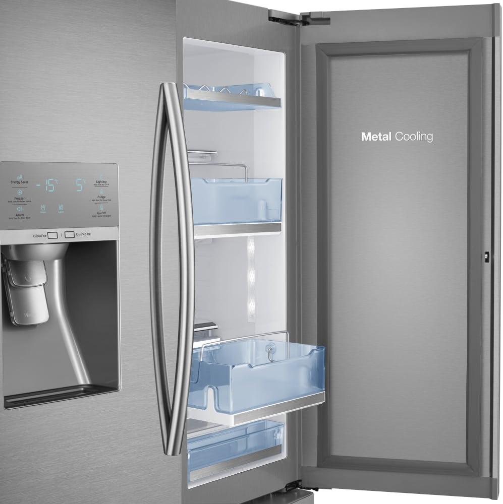 Samsung Rf30hdedtsr 36 Inch French Door Refrigerator With